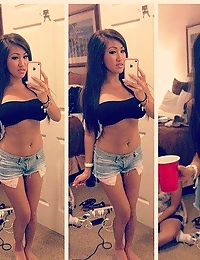 Selection of sexy amateur chicks posing for the cam